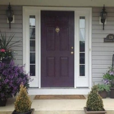 What color is your front door?