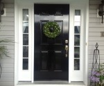 Black Painted Front Door + Lessons Learned