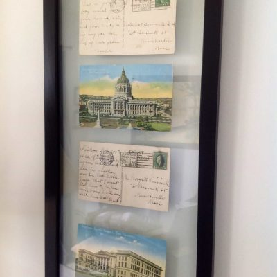 Upcycling: Vintage Postcards as Art