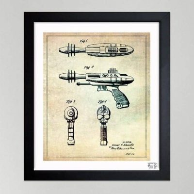 Industrial Art: Blueprints and Patent Drawings