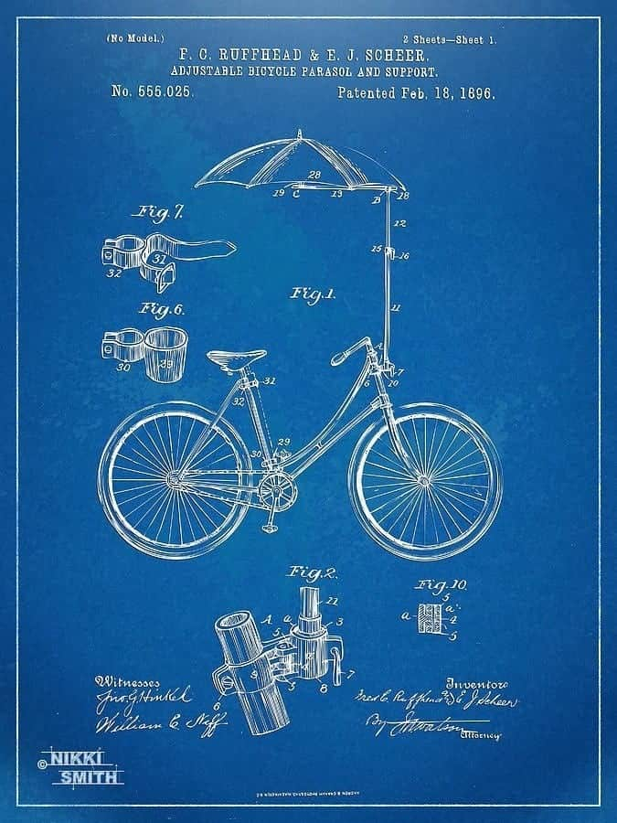 Industrial art blueprints and patent drawings snazzy little things 20121102 093446g malvernweather Images