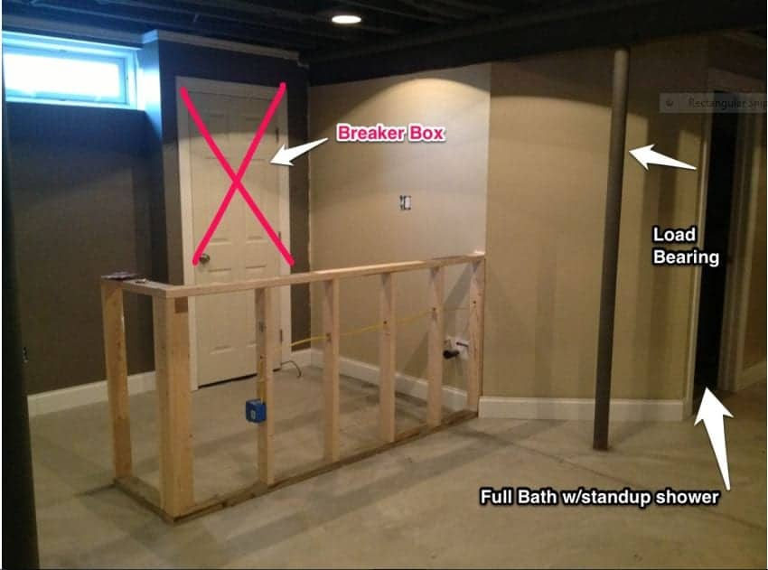 Diy Dilemma How To Build A Bar Around A Door