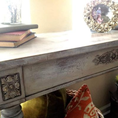 Damaged Victorian Table Gets an Update