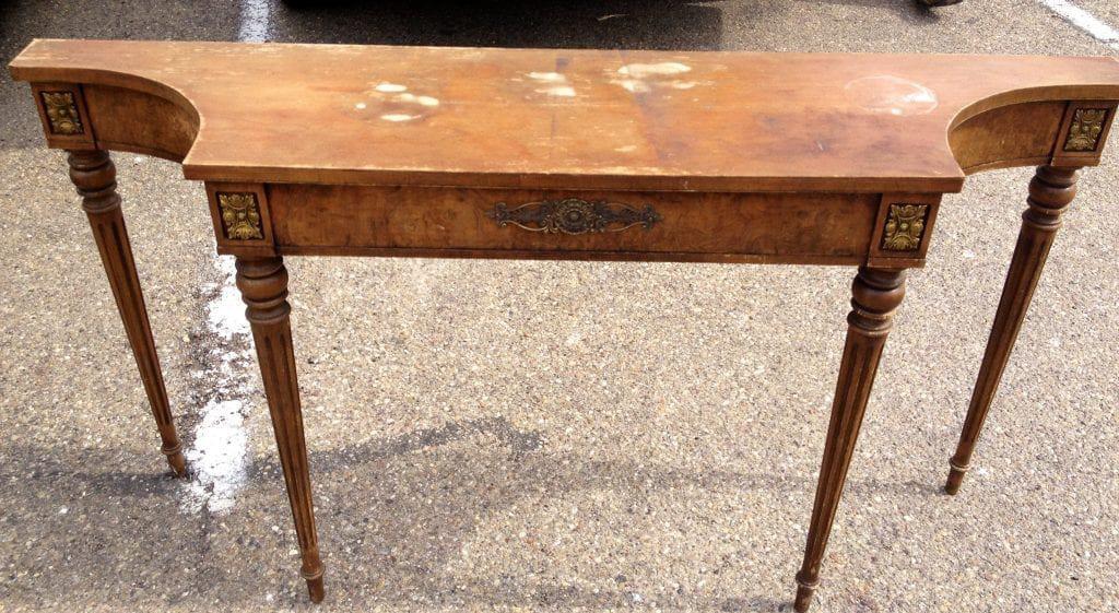 $25 Table - before Annie Sloan treatment