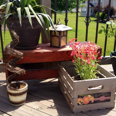DIY Vintage Crates with Labels