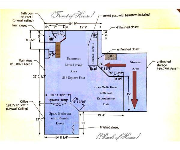 industrial basement floorplan