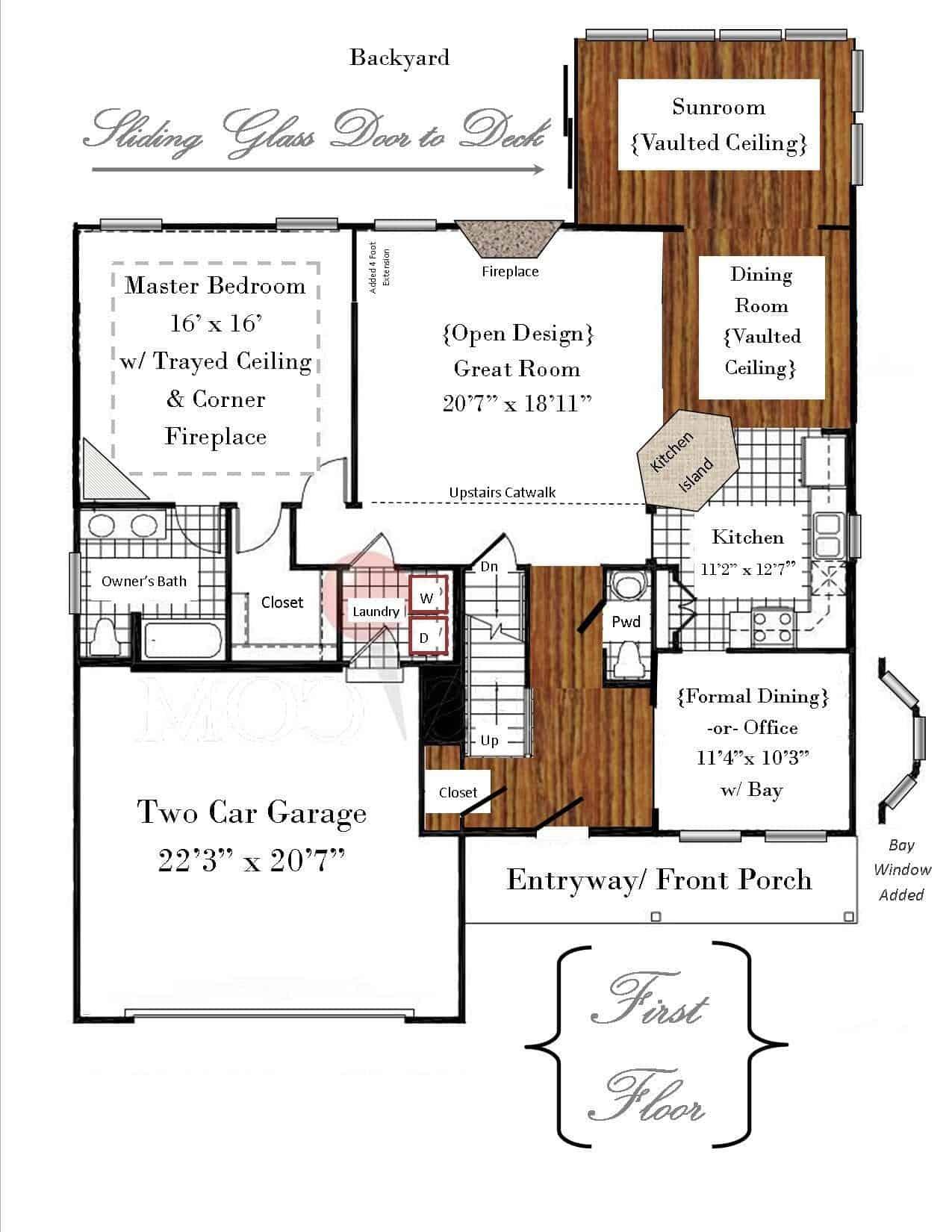 The Esquire: Floor Plan | snazzy little