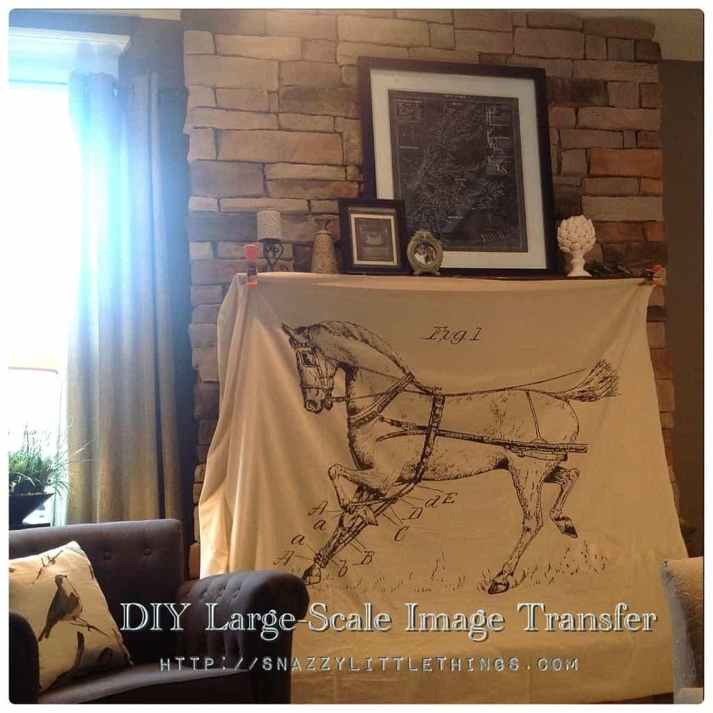 DIY: Large Scale Image Transfer