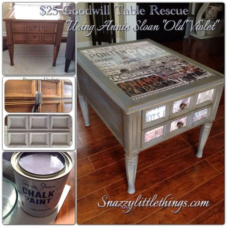 DIY: $25 Goodwill Table Upcycle
