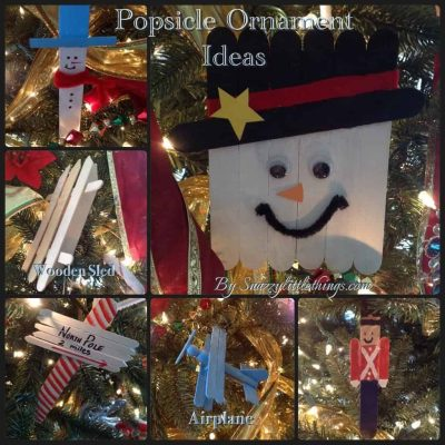 Oriental Trading Co. – Popsicle stick ornaments