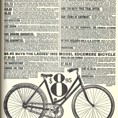 Vintage Bicycle 1902