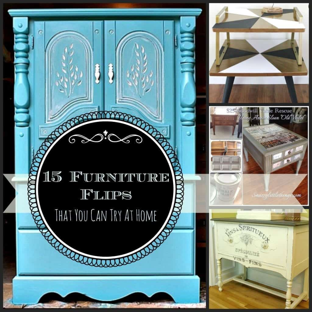 15 furniture flips collage