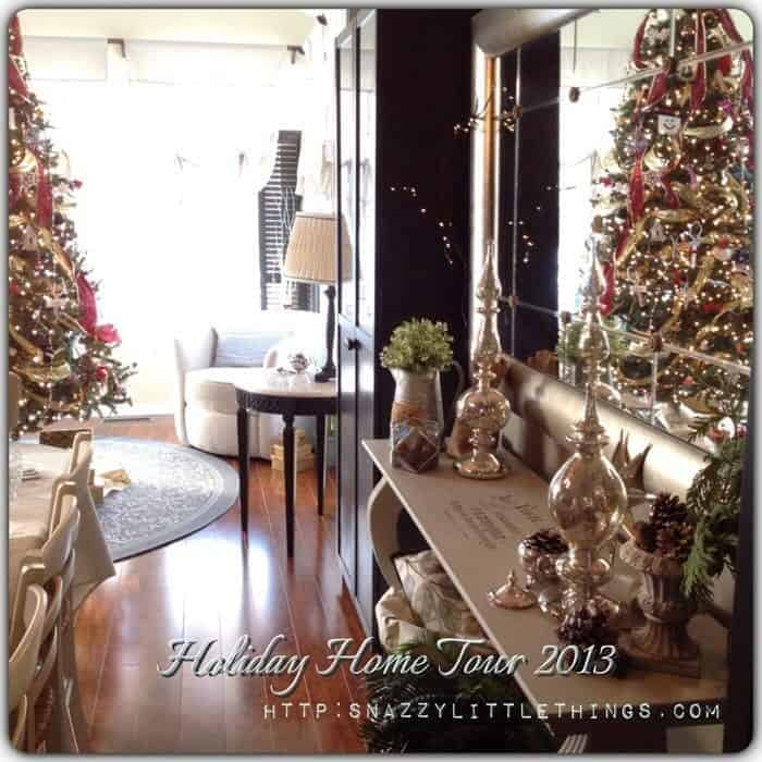 holiday home tour glam and vintage