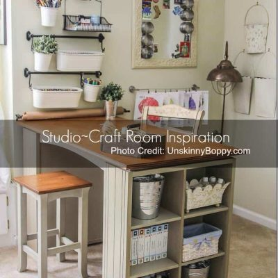 Studios, Woodshops & Storage Ideas