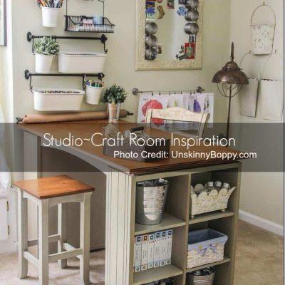 Inspiration File: Studios, Woodshops & Storage