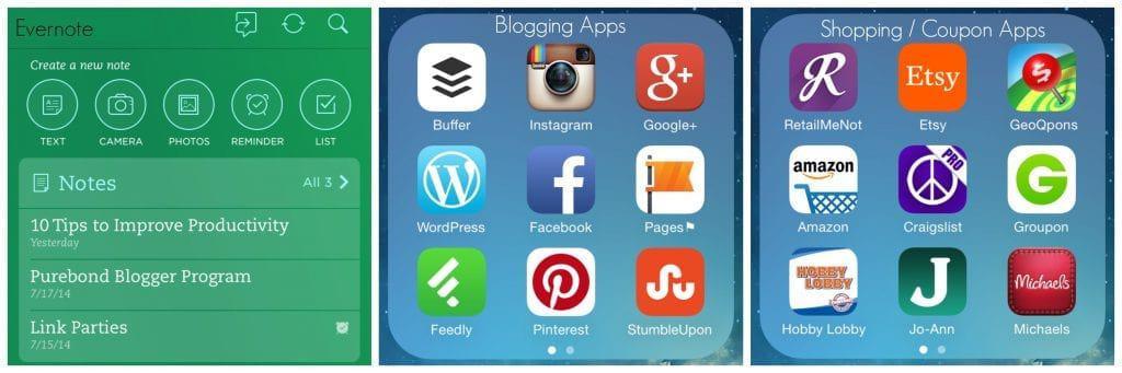 Apps I use
