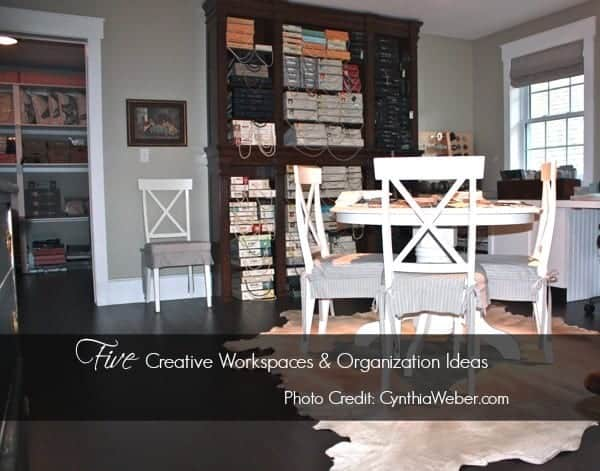 Inspiration File: Studios & Workspace Organization