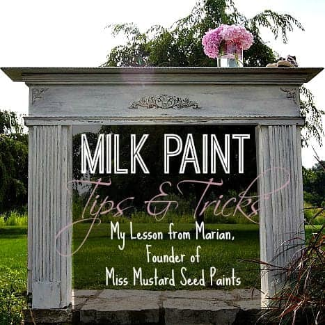 Milk Paint Basics by SnazzyLittlethings.com
