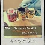 Oil Based Stain Tips & Tricks