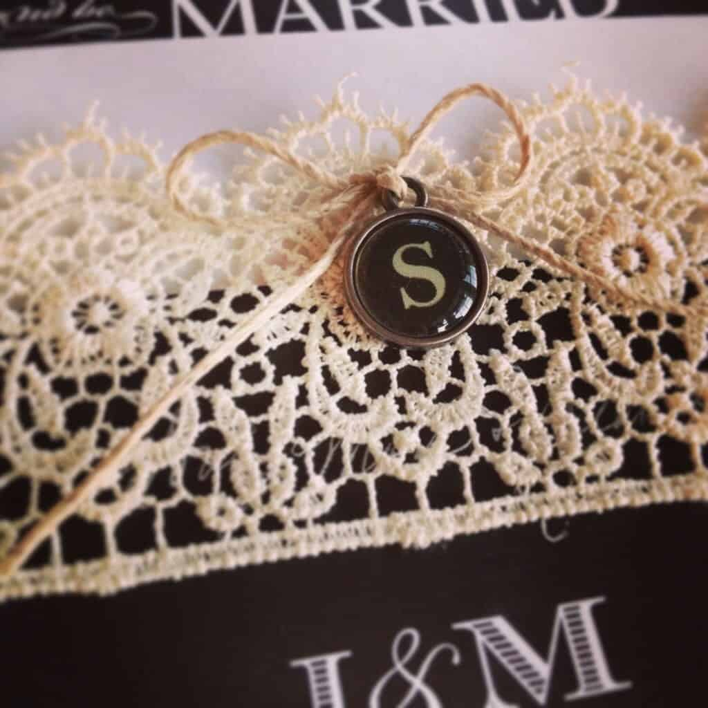 Vintage Wedding Invitations   by Snazzy Little Things