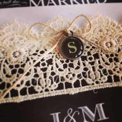 Invitations With Vintage Bling