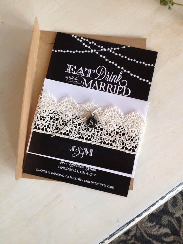 Vintage Wedding Invitations   by SnazzyLittleThings.com