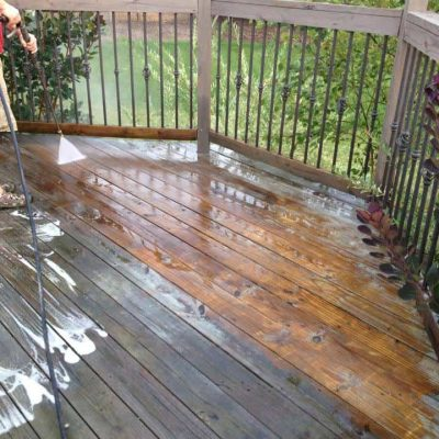 Our Deck, Before & After