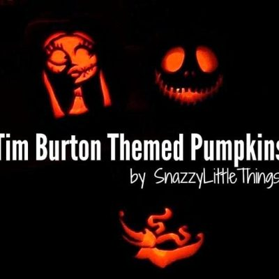 Tim Burton Themed Pumpkins