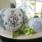 Decoupage Your Pumpkin