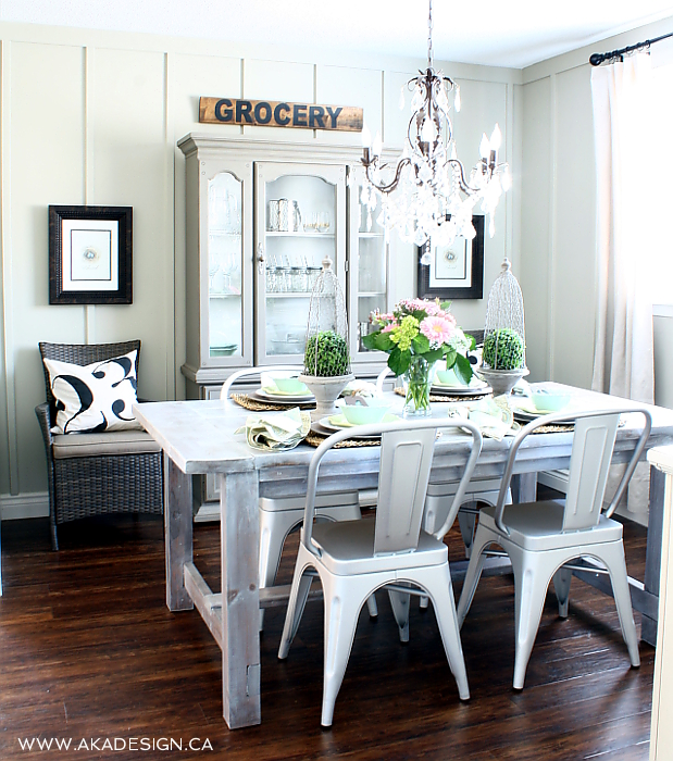 Dining Room: 5 Rustic Glam Dining Rooms