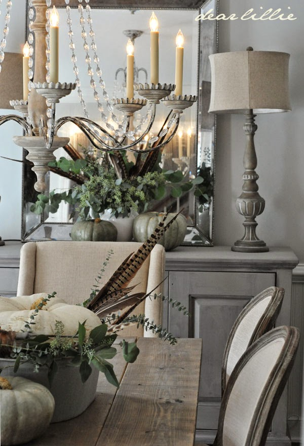 5 Rustic Glam Dining Rooms