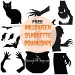 Free Downloads: Halloween Window Silhouettes