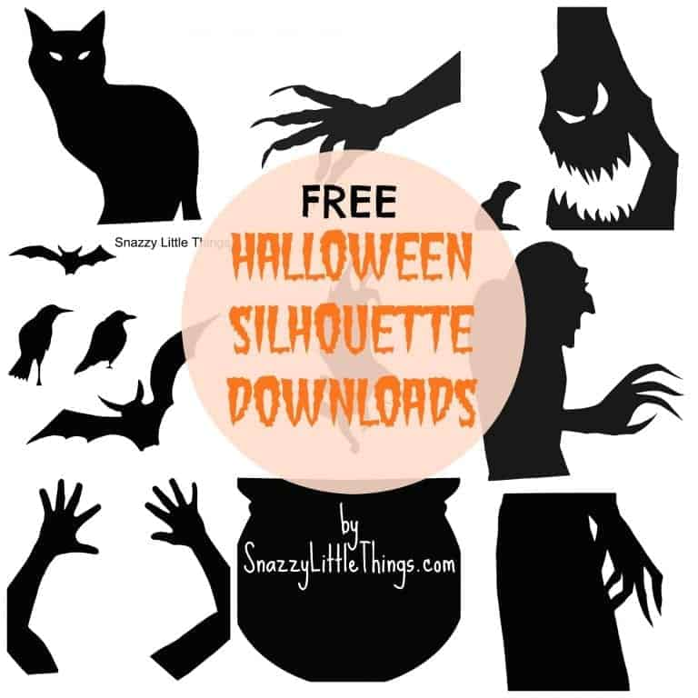 Halloween House Tour + Free Downloads