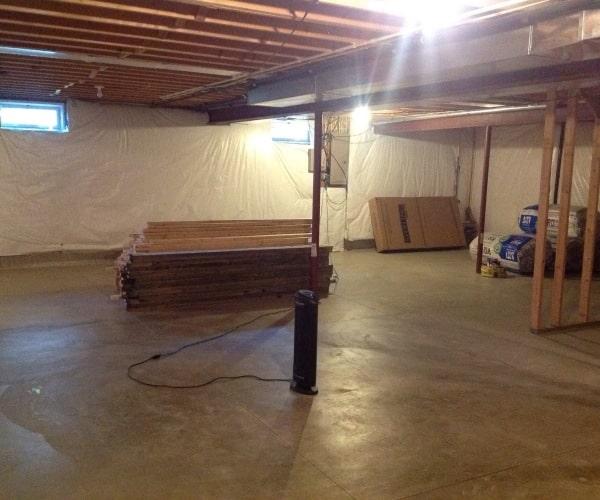 industrial basement construction