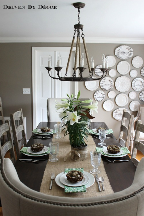 Five rustic glam dining rooms snazzy little things - How to decorate a dining room ...