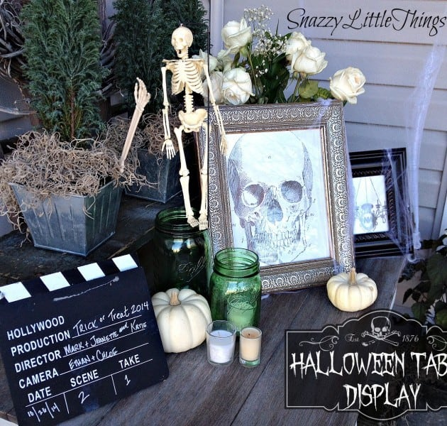 halloween table 2014
