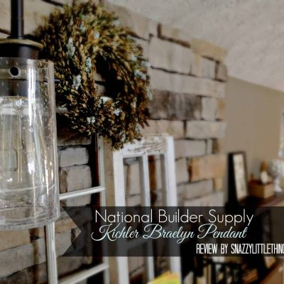 DIY: Industrial Lighting Upgrade Over the Mantel