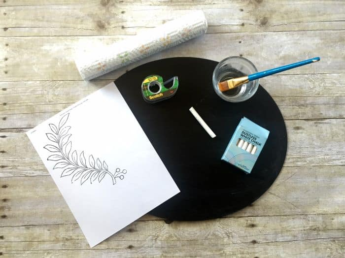 DIY Workshop Chalkboard Art