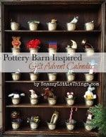 Knock Off Holidays: Pottery Barn Advent Calendar