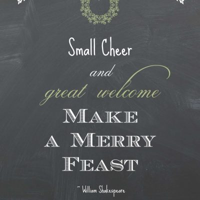 Small Cheer Printable