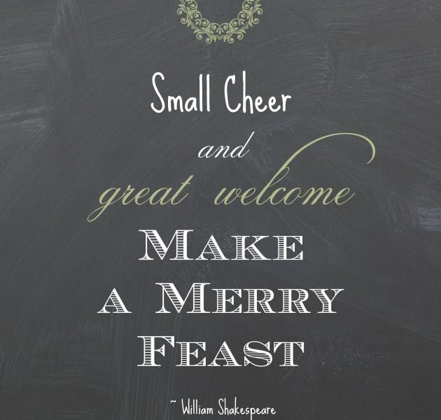 Small Cheer Printable