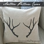 """Holiday Antlers & """"Be Merry"""" templates"""