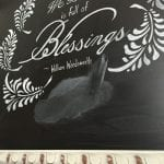 DIY: Stenciled Chalkboard Wreath