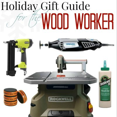 """Holiday Gift Guide for the Woodworker"" - a product round up at SnazzyLittleThings.com"