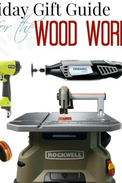 holiday gift guide for the woodworker collage