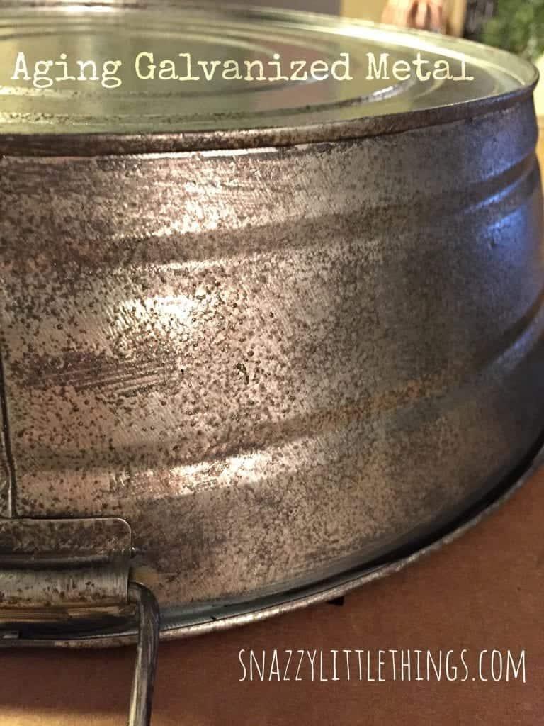Aging Galvanized Metal 3