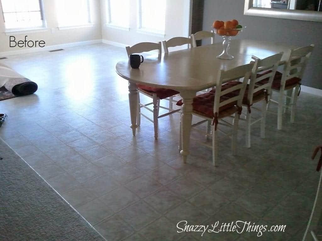 Floor Before Laminate Install