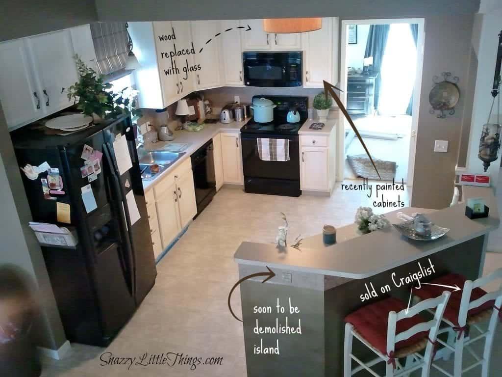 Kitchen before upgrades