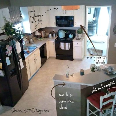 DIY Laminate Floor Installation {Budget} Tutorial - by SnazzyLittleThings.com