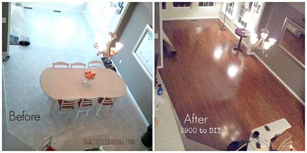 Laminate Flooring DIY Project